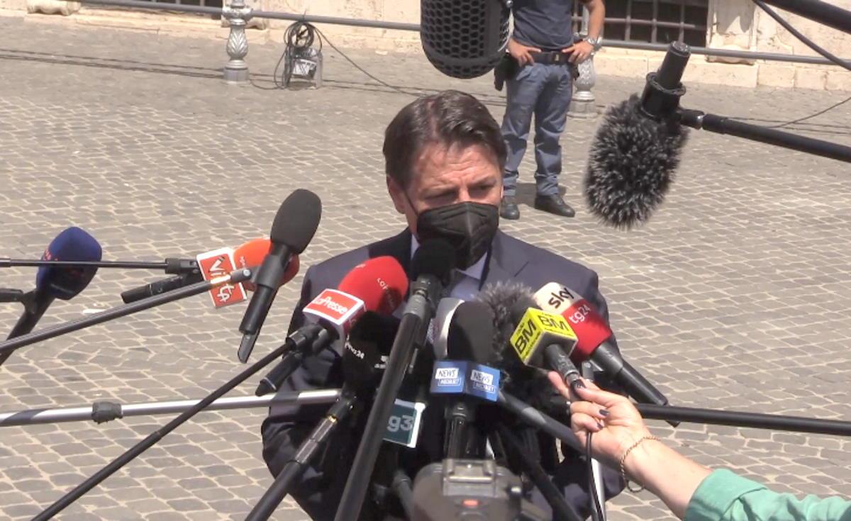 Conte è andato da Draghi per parlare di pandemia, transizione ecologica e riforma della Giustizia