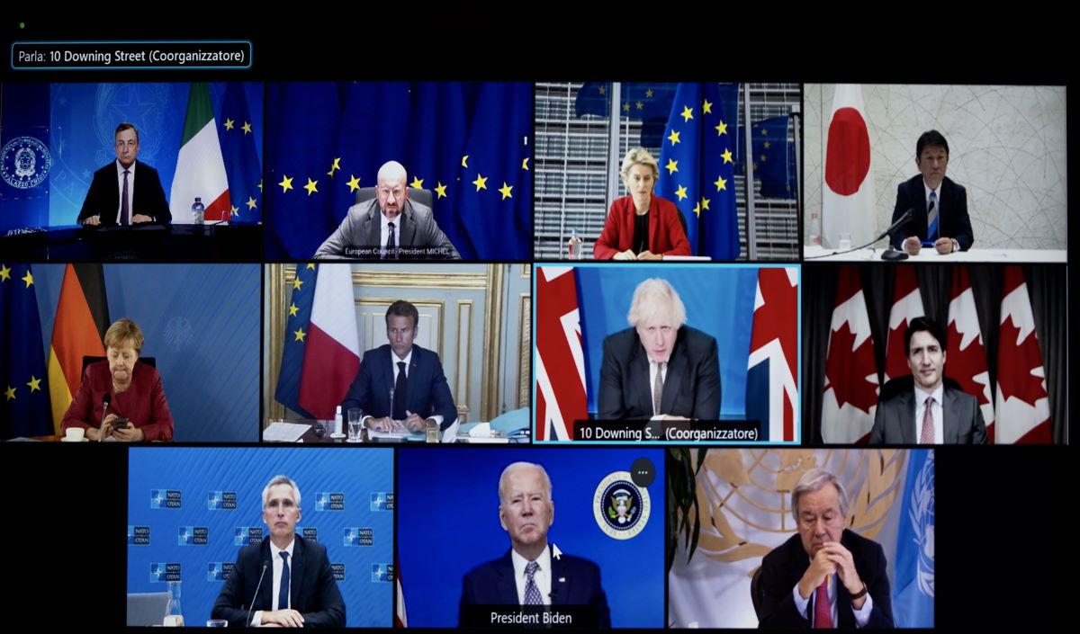 Si è tenuta martedì l'inutile riunione del G7 sull'Afghanistan
