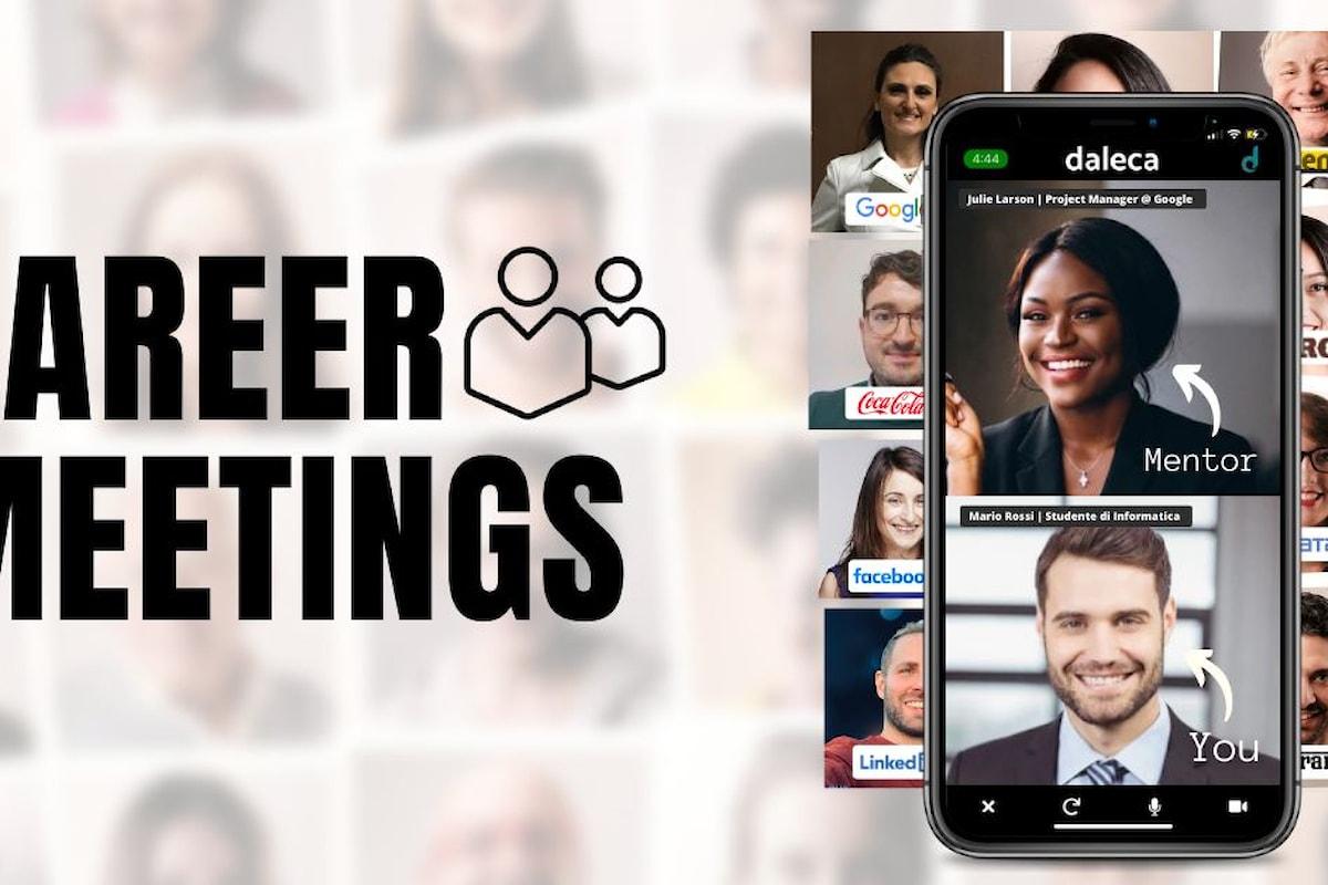 Giovani e lavoro: nascono i Career Meetings, un progetto 100% made in Italy