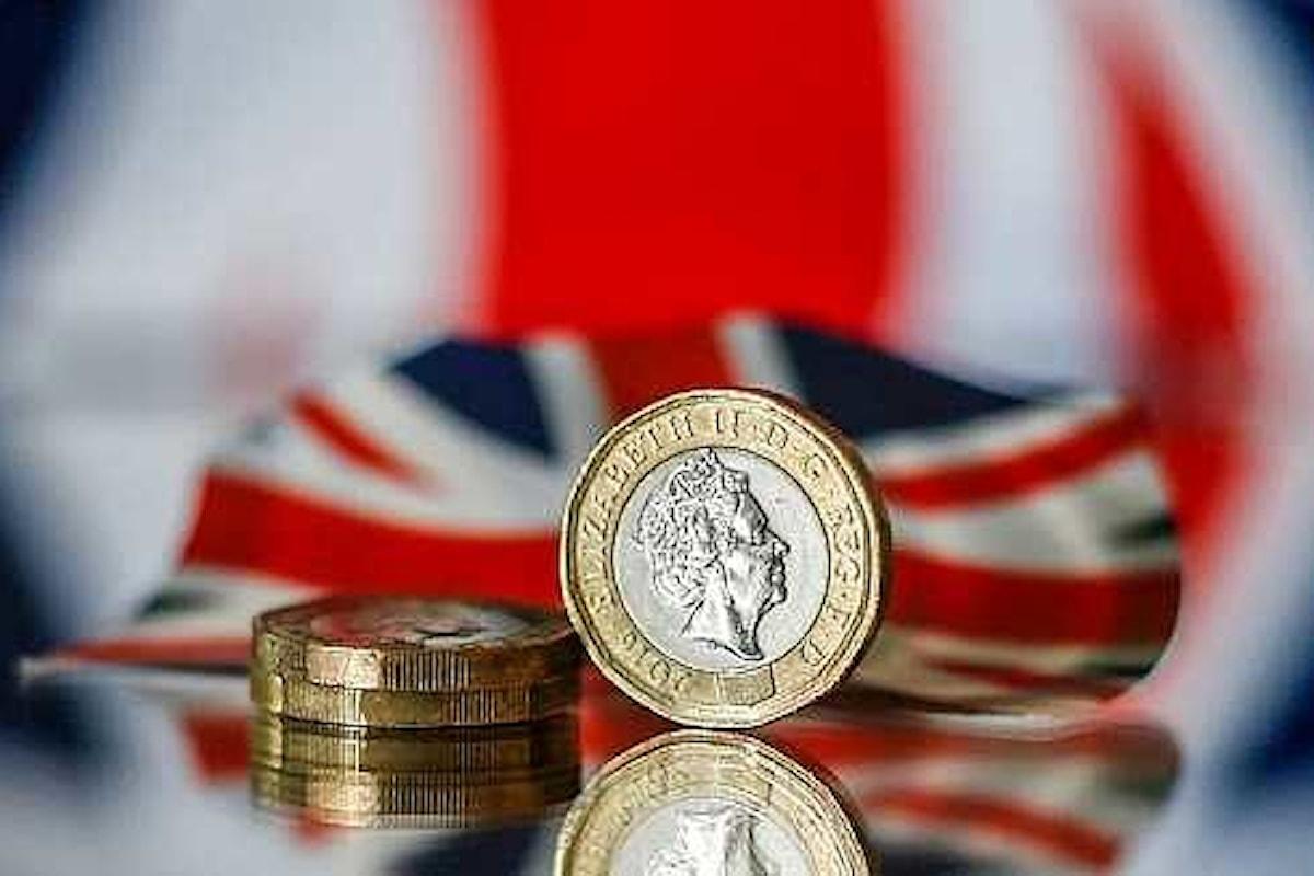 Mercati valutari, giornata molto negativa per la sterlina