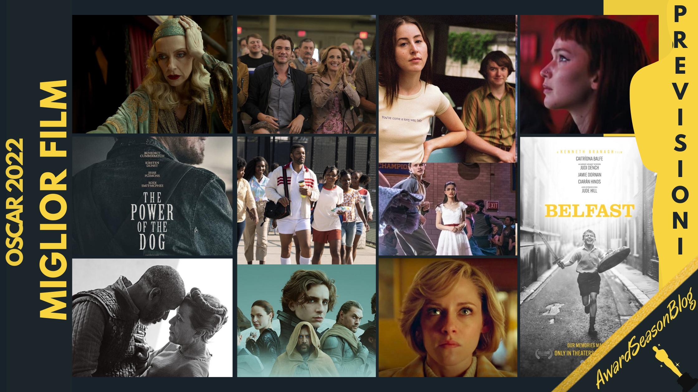 Oscar 2022: quali sono i film da tenere d'occhio? (previsioni ottobre)