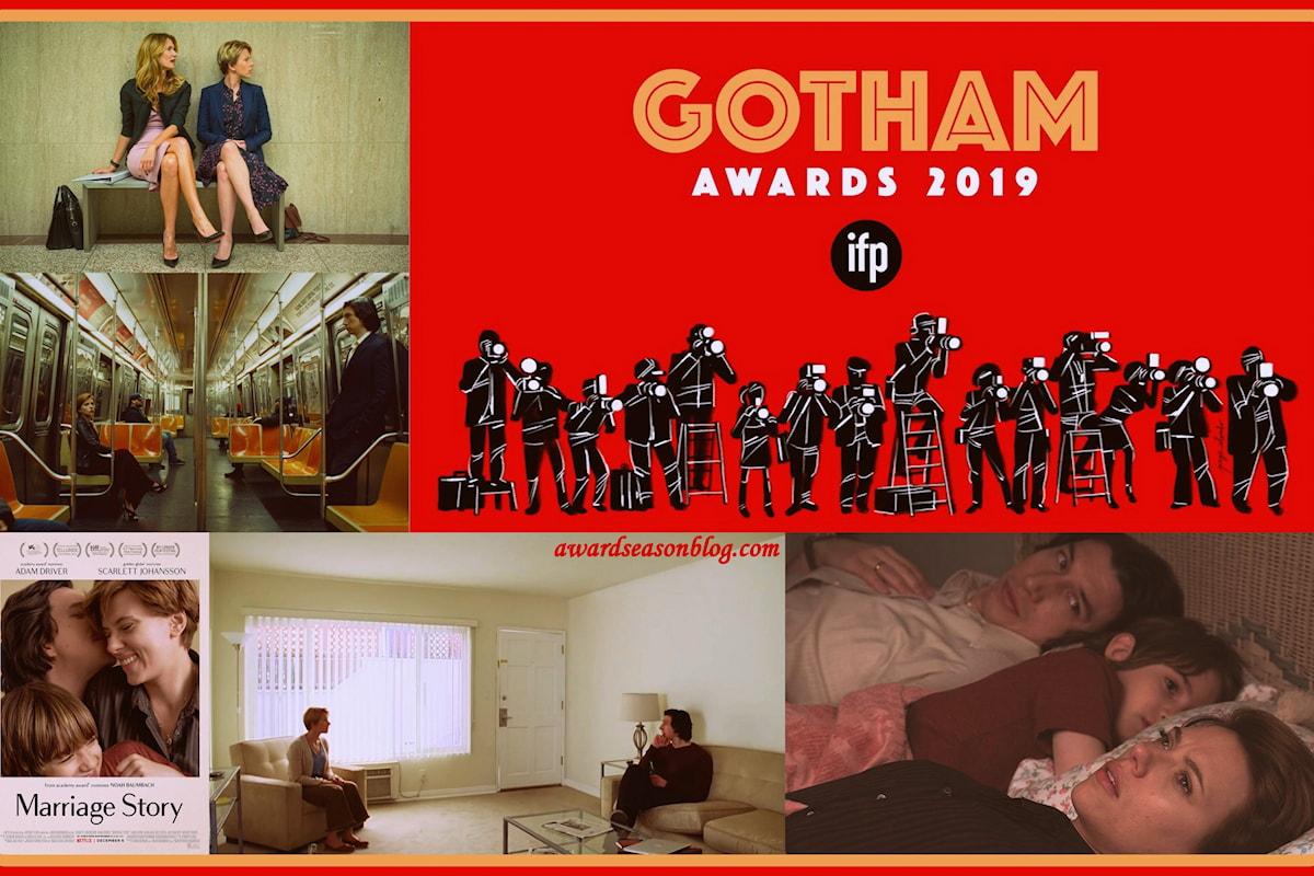 Marriage Story vince 4 Gotham Awards e inizia la sua corsa verso gli Oscar