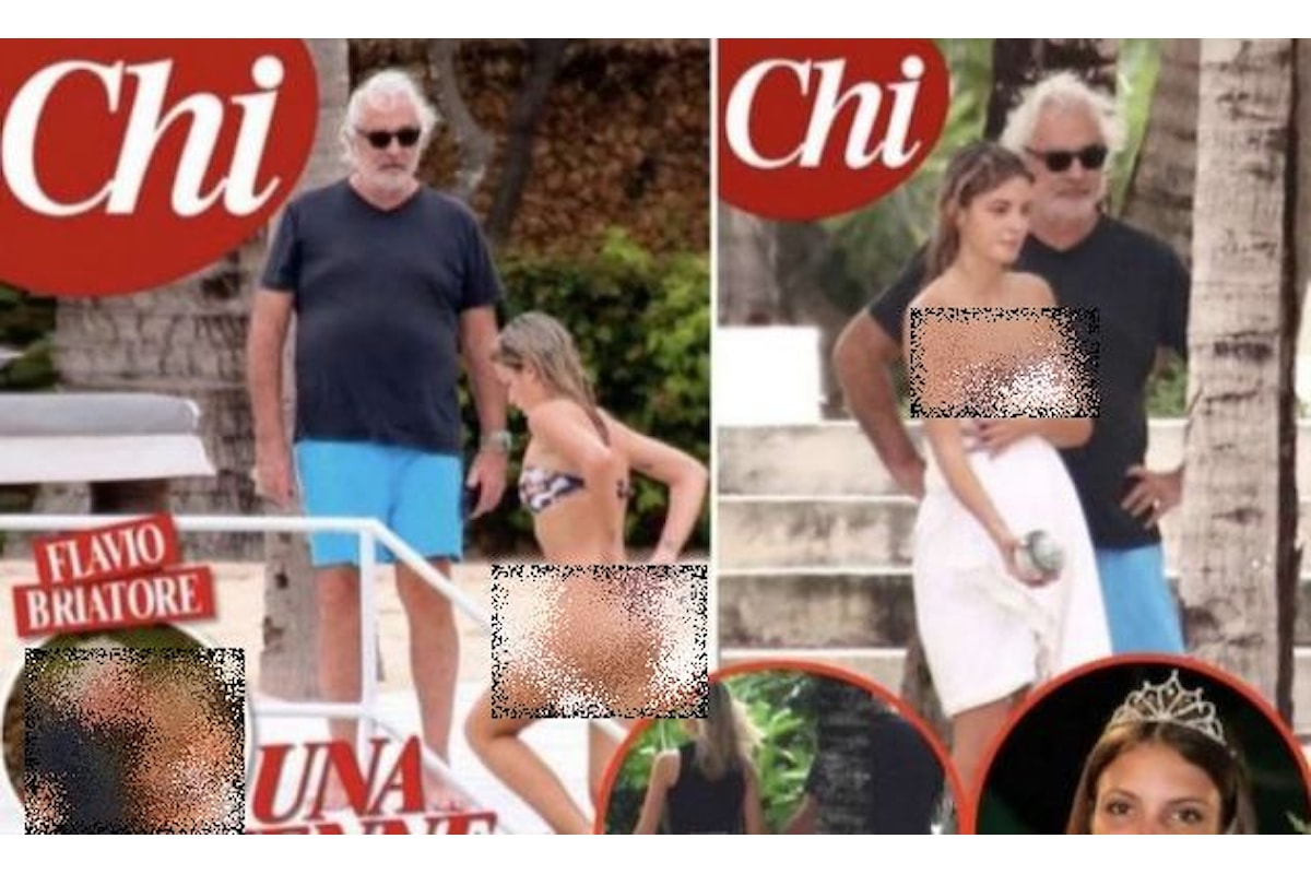 Benedetta Bosi è la nuova fidanzata di Flavio Briatore, fra loro una differenza di 49 anni