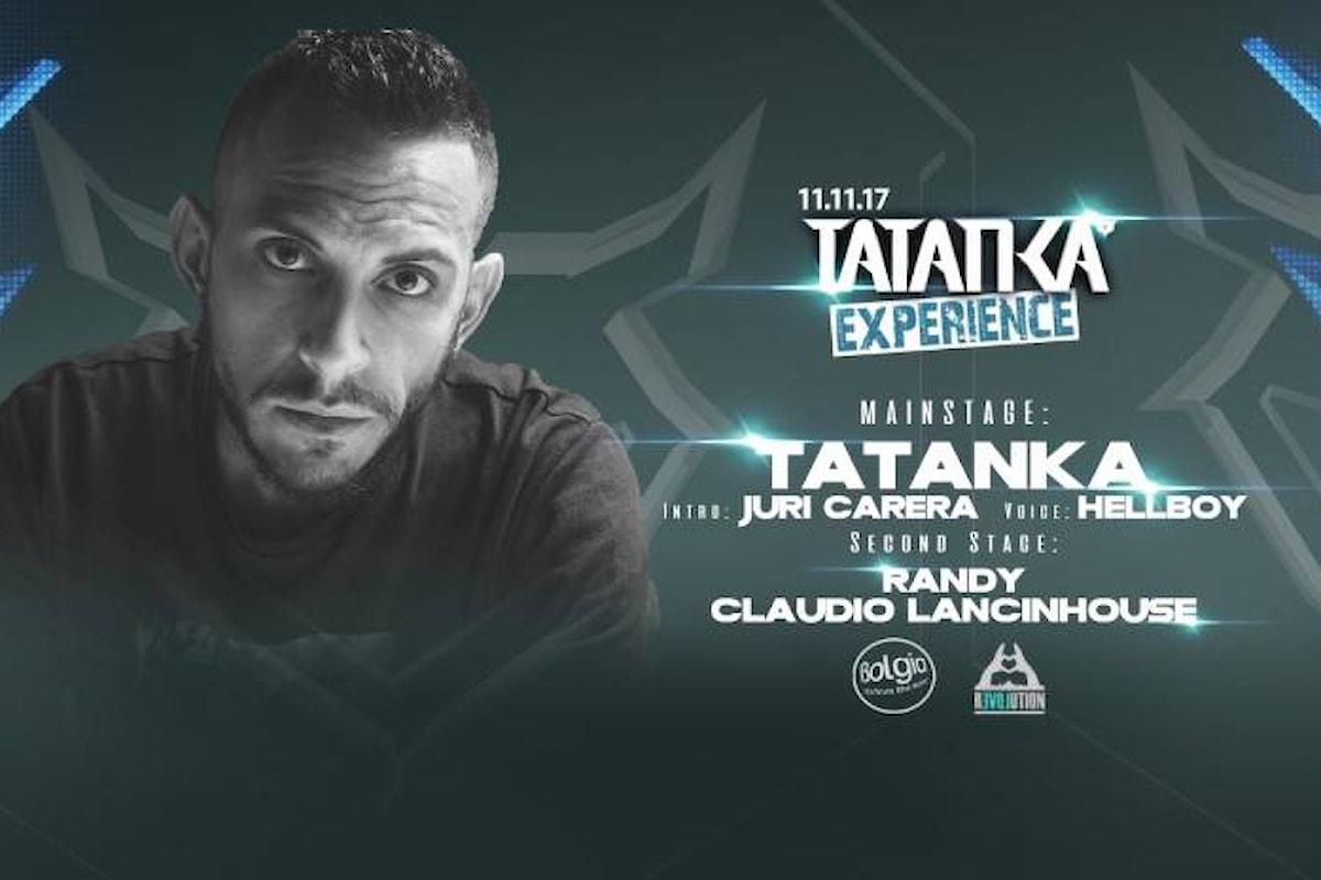 11novembre, Tatanka experience al Bolgia di Bergamo. Free entry entro le 23.30