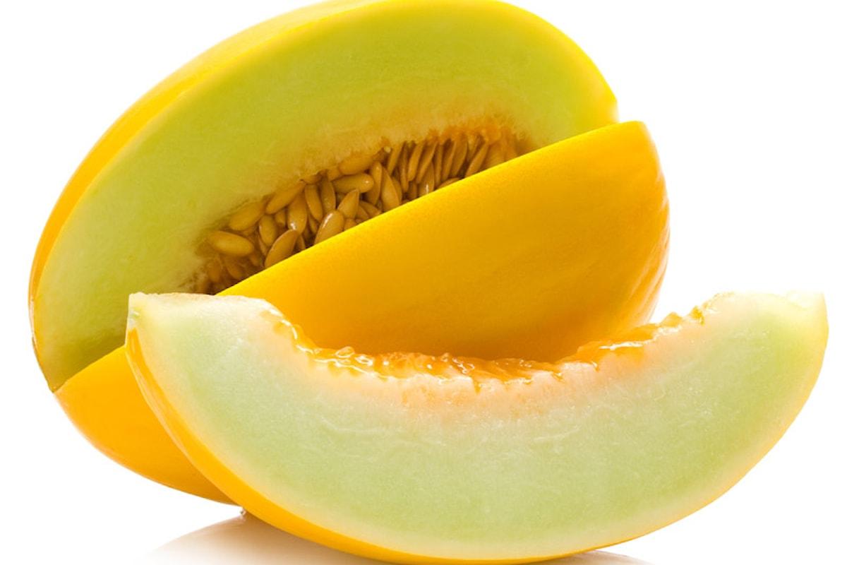 Quei profumati meloni gialli calabresi:dissetanti, diuretici, rinfrescanti.