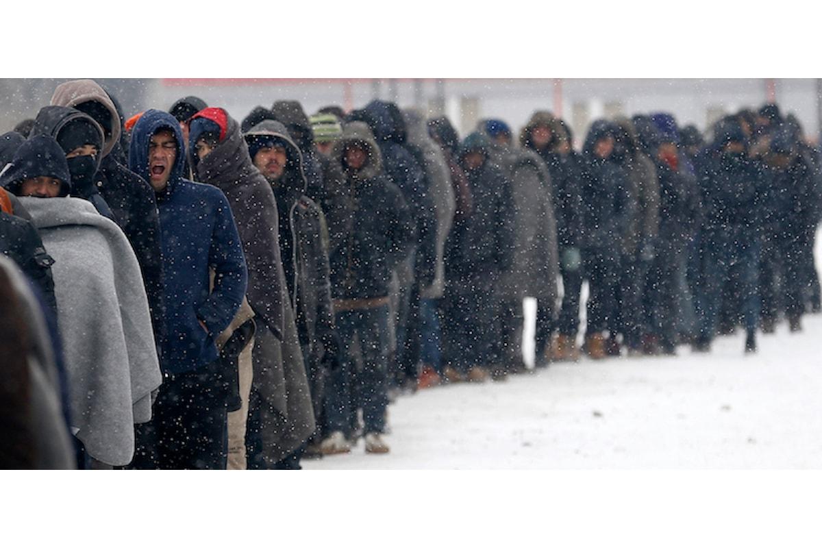Ungheria: I migranti muoiono di freddo, Orba'n ordina di arrestarli