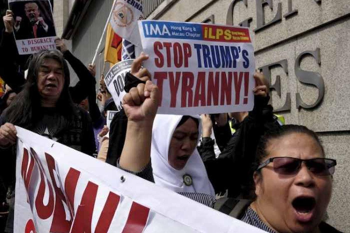 La Corte di Appello di San Francisco conferma la sospensione del divieto di Trump