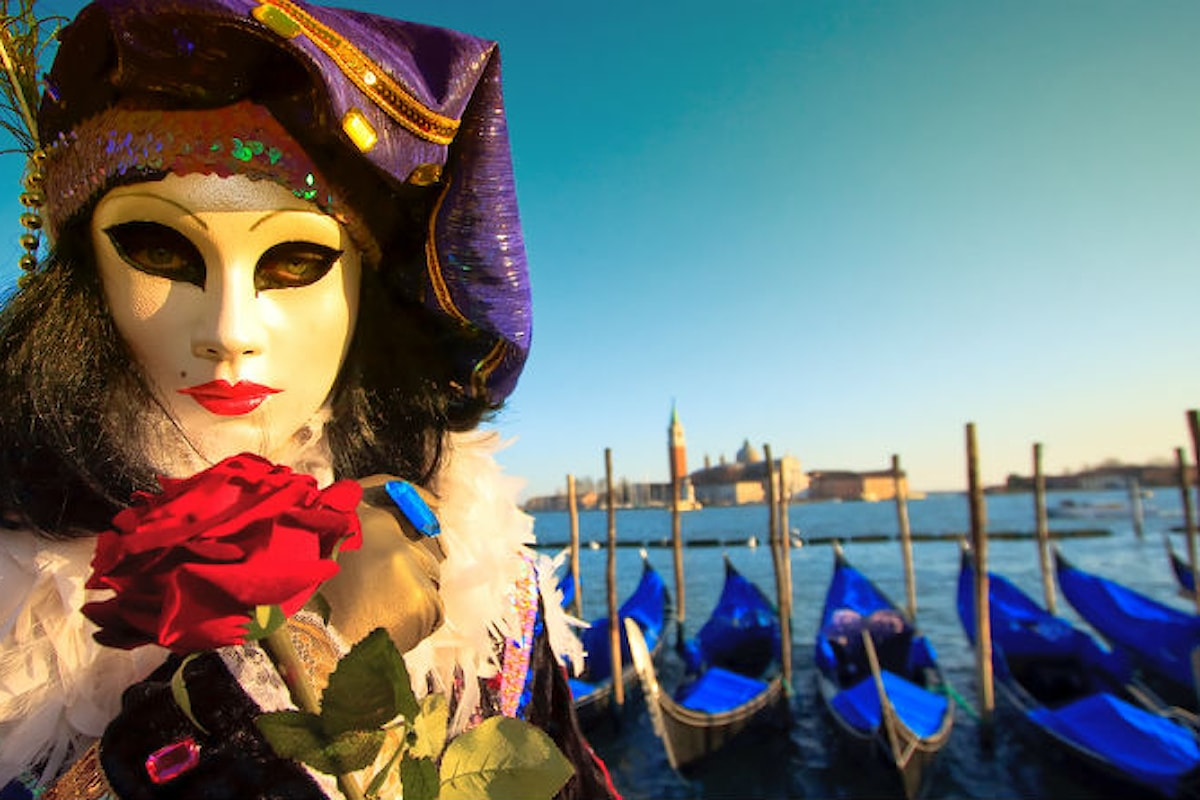 Non sei mai stato al Carnevale a Venezia?