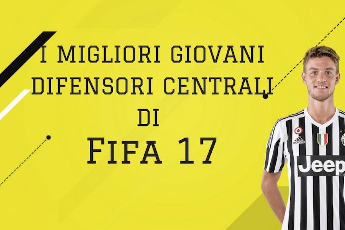 Fifa 17: difensori centrali giovani per la modalità carriera