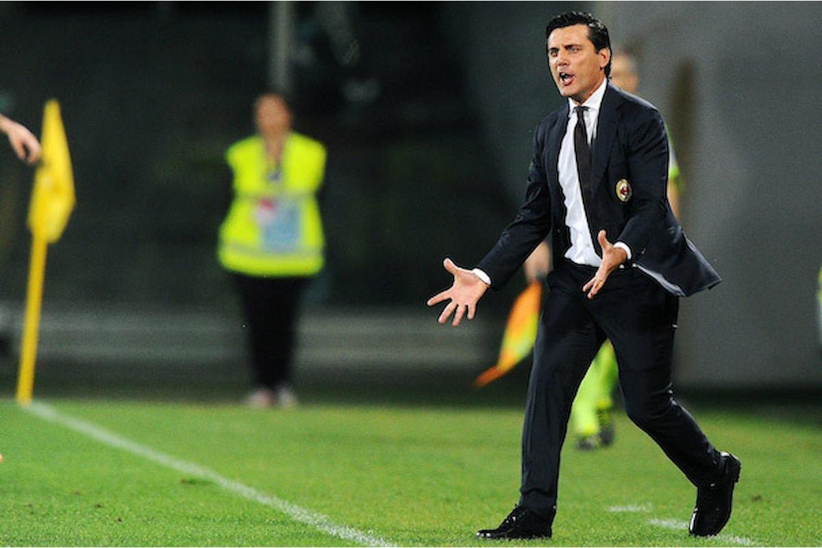 Milan, Montella contro il Var