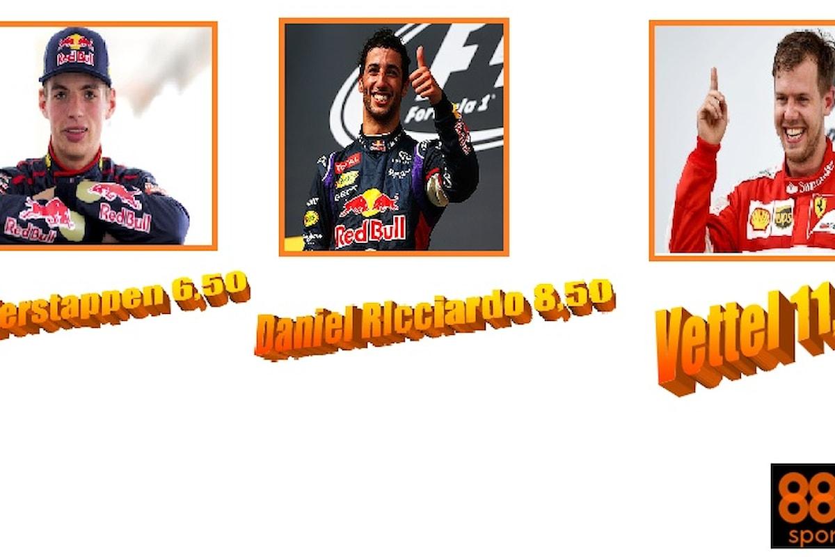 Gp Monaco: sorpasso in quota, per 888sport.it Red Bull meglio della Ferrari