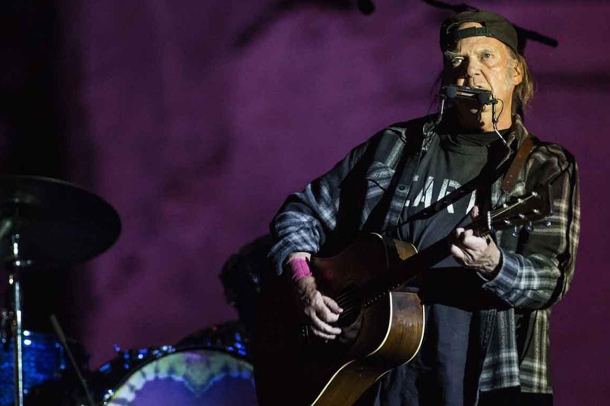Il concerto alle Terme di Caracalla di Neil Young