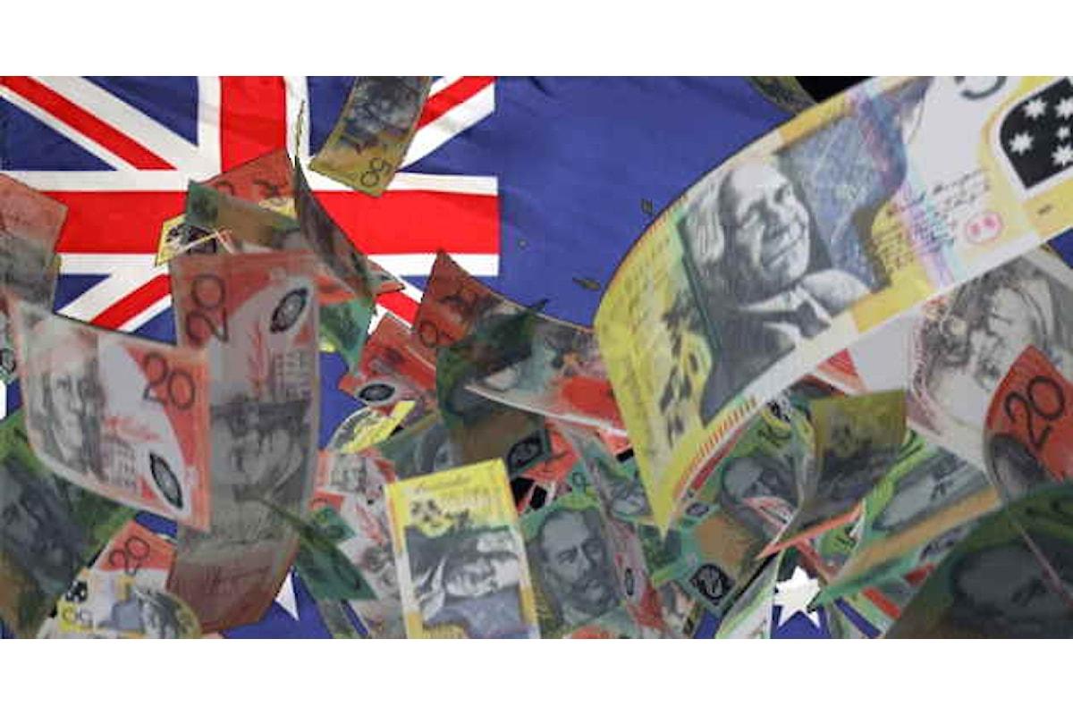 Mercati, l'euro guadagna ancora terreno contro l'AUD