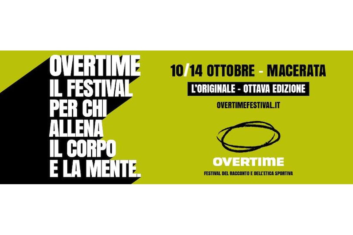 OVERTIME FESTIVAL 2018, Macerata tempio della cultura e dello sport