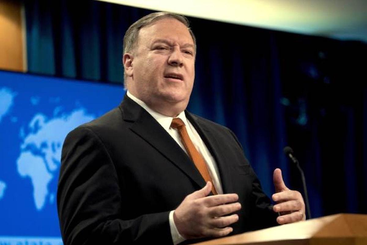 Pompeo: il consolato Usa a Gerusalemme sarà inglobato nella nuova ambasciata. Ira dei palestinesi