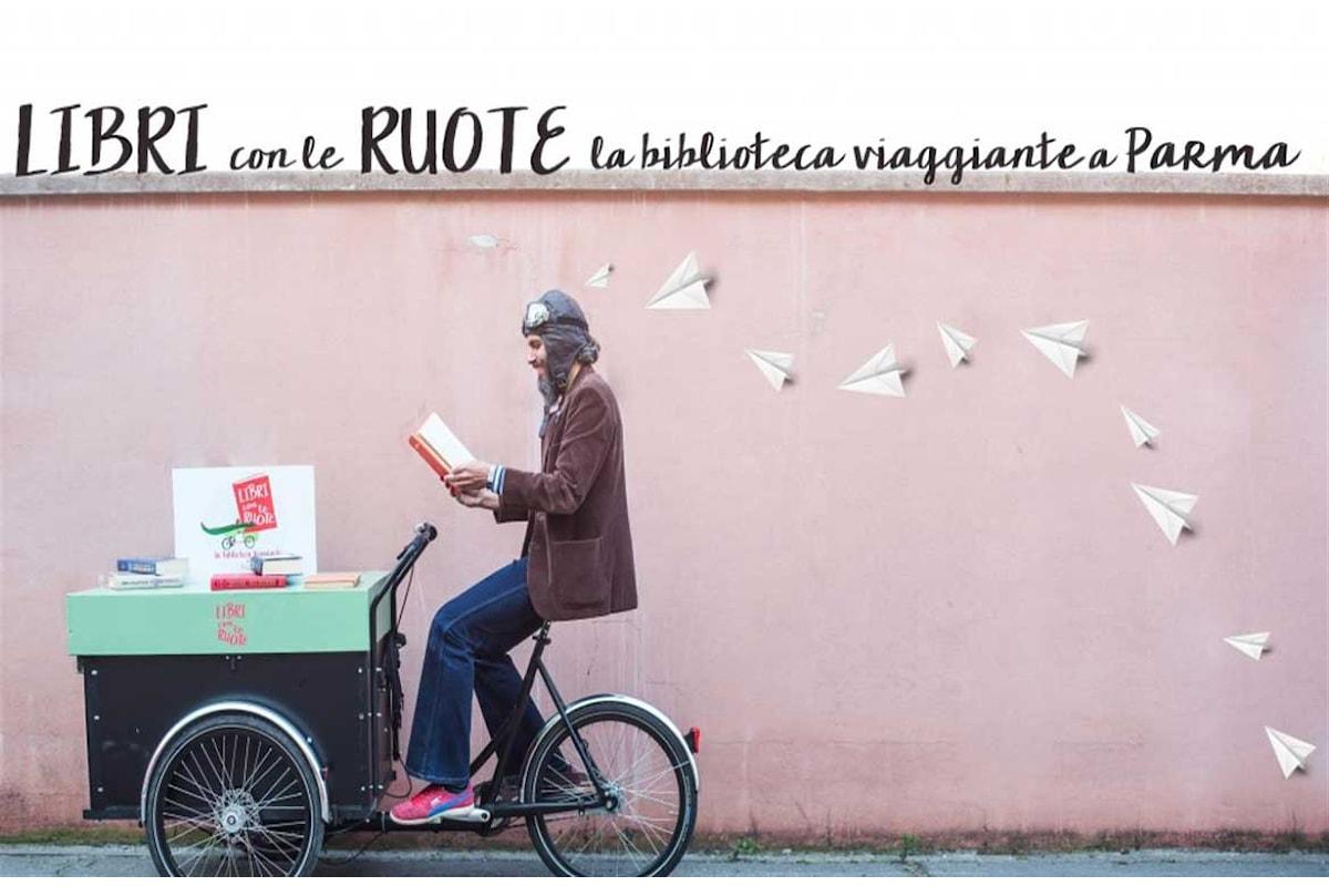 A Parma i libri si muovono: al via il progetto per bambini Libri con le ruote