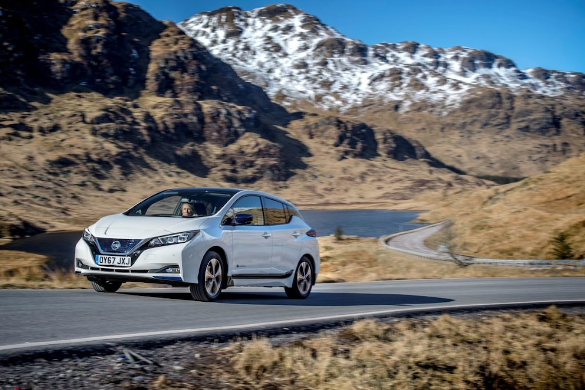 Vola la nuova Nissan LEAF nel Vecchio Continente!