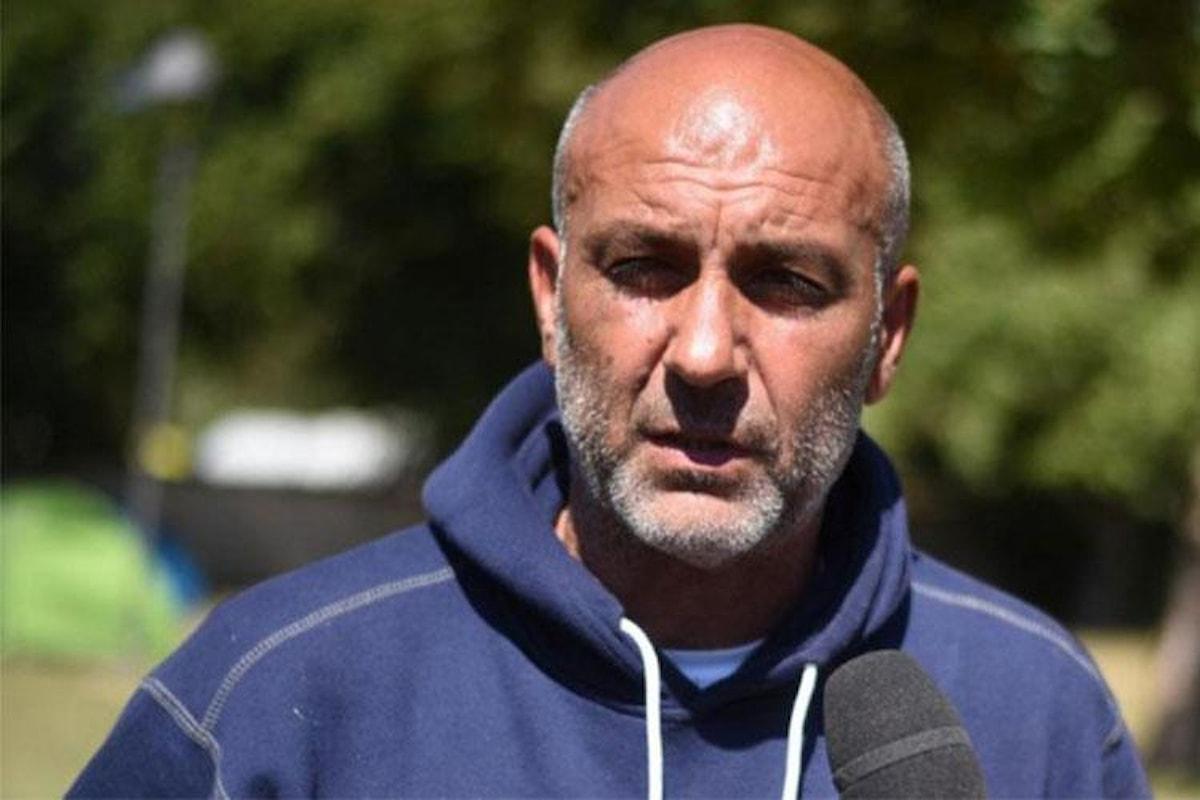 Sergio Pirozzi, sindaco di Amatrice, candidato a miglior allenatore del 2016