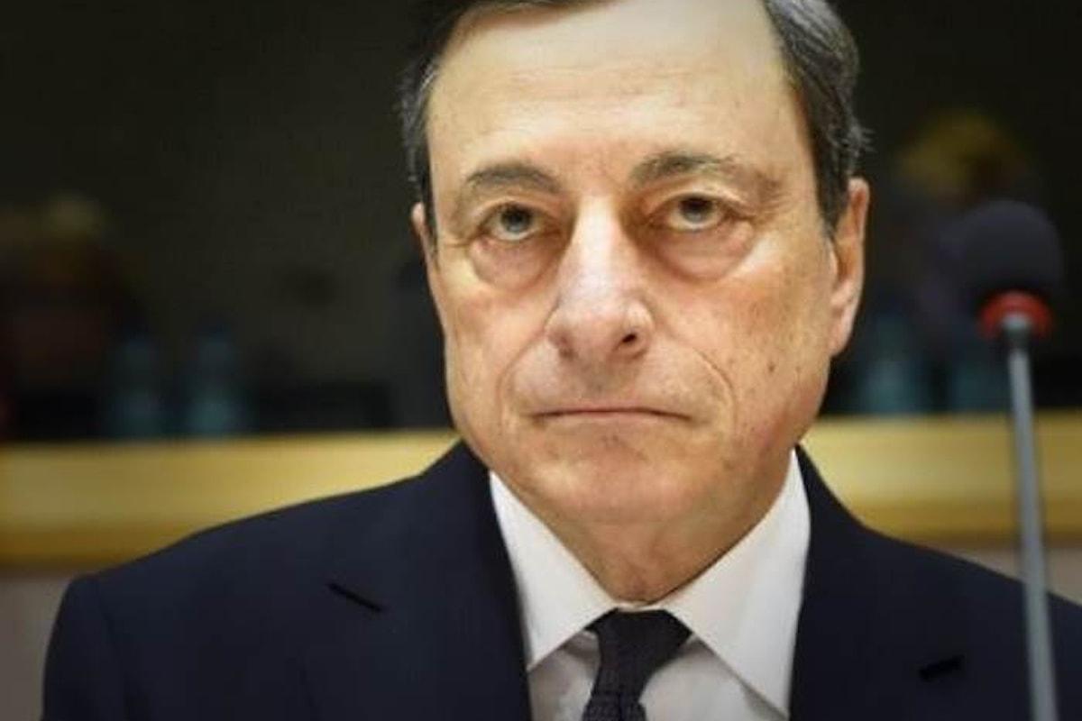 Anche Mario Draghi ricorda all'Italia i pericoli di uno spread alto