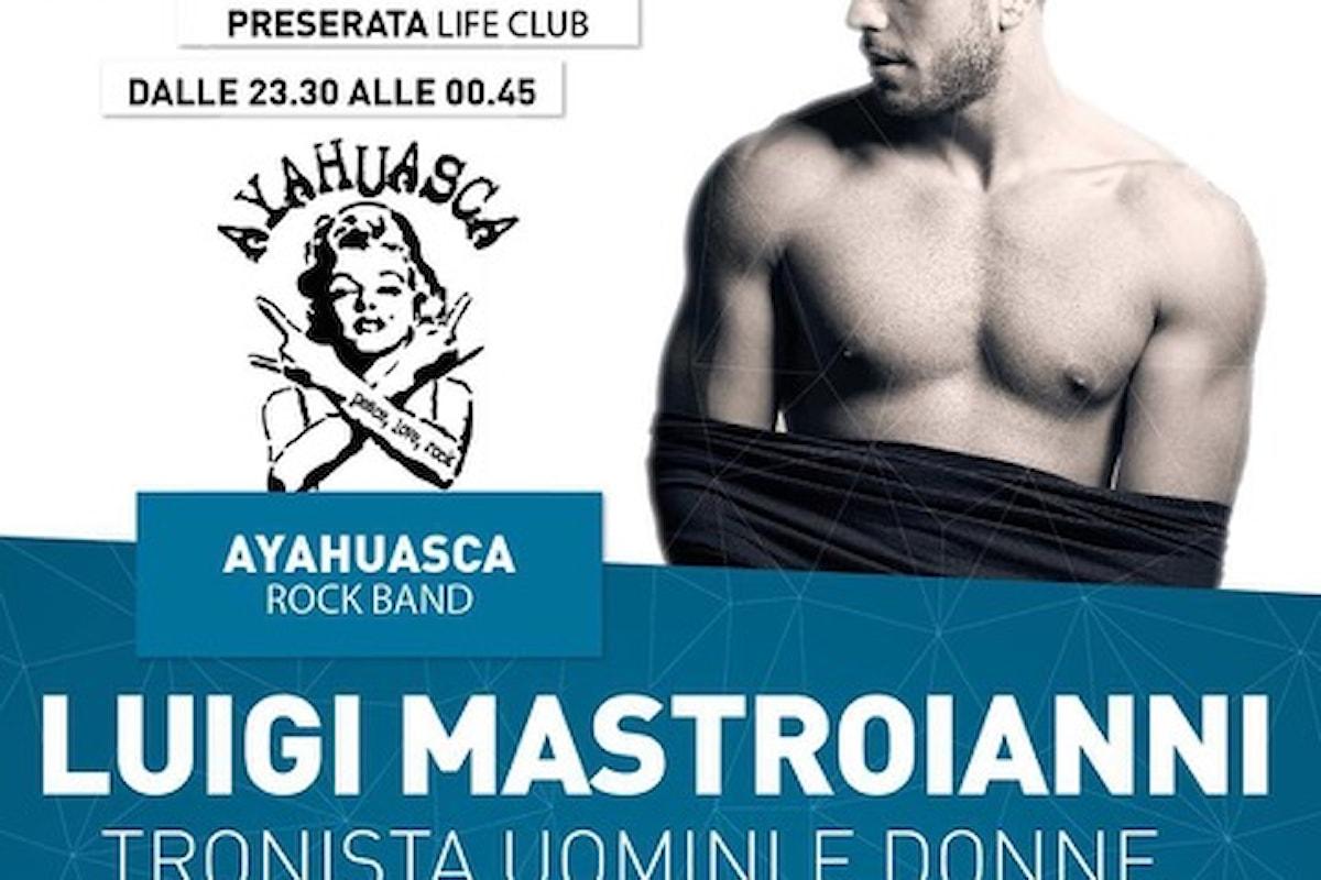 Mastroianni (Uomini e Donne) al Life Club