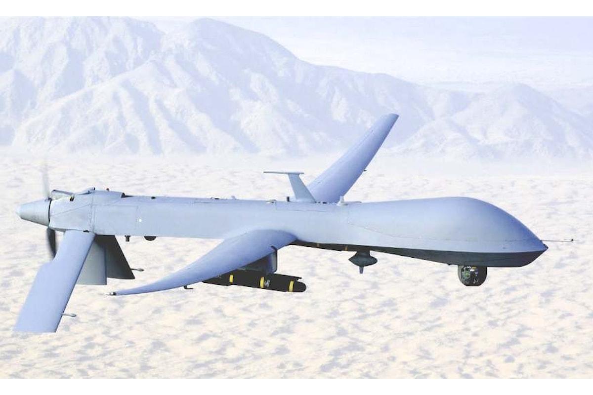 Da Sigonella, droni USA potranno bombardare in Libia. Lo hanno deciso Renzi e Gentiloni