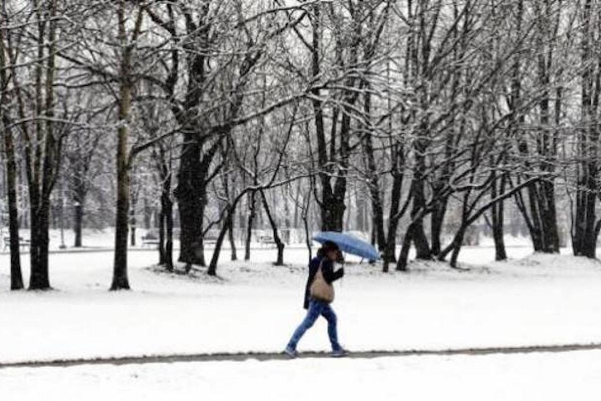 Fino a giovedì 20 dicembre nevicherà in pianura in molte aree del nord Italia