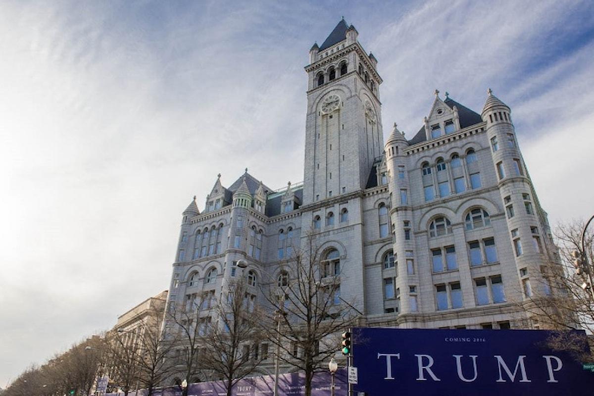A Washington Donald Trump apre il suo nuovo hotel da favola