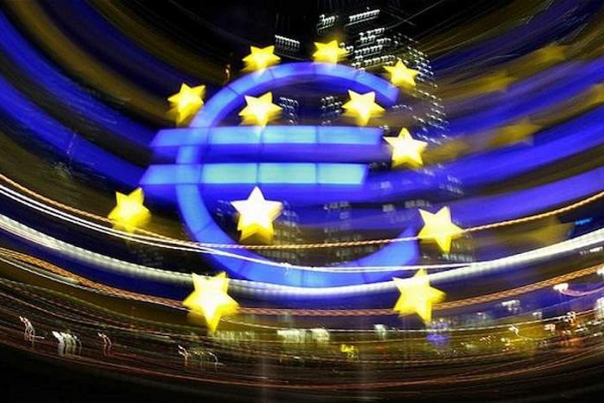 Confermate le previsioni di crescita per l'economia dell'area Euro per i primi sei mesi del 2018