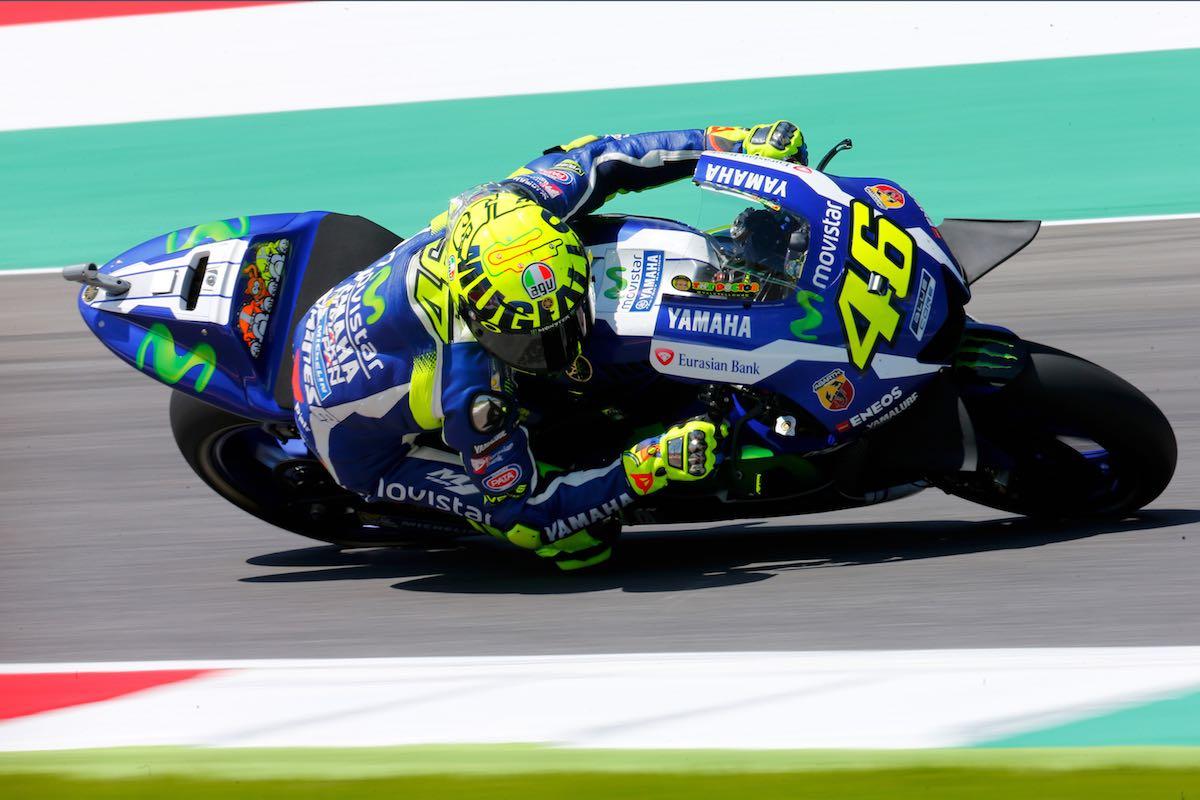 Rossi sul GP d'Italia al Mugello: Vedremo domani...