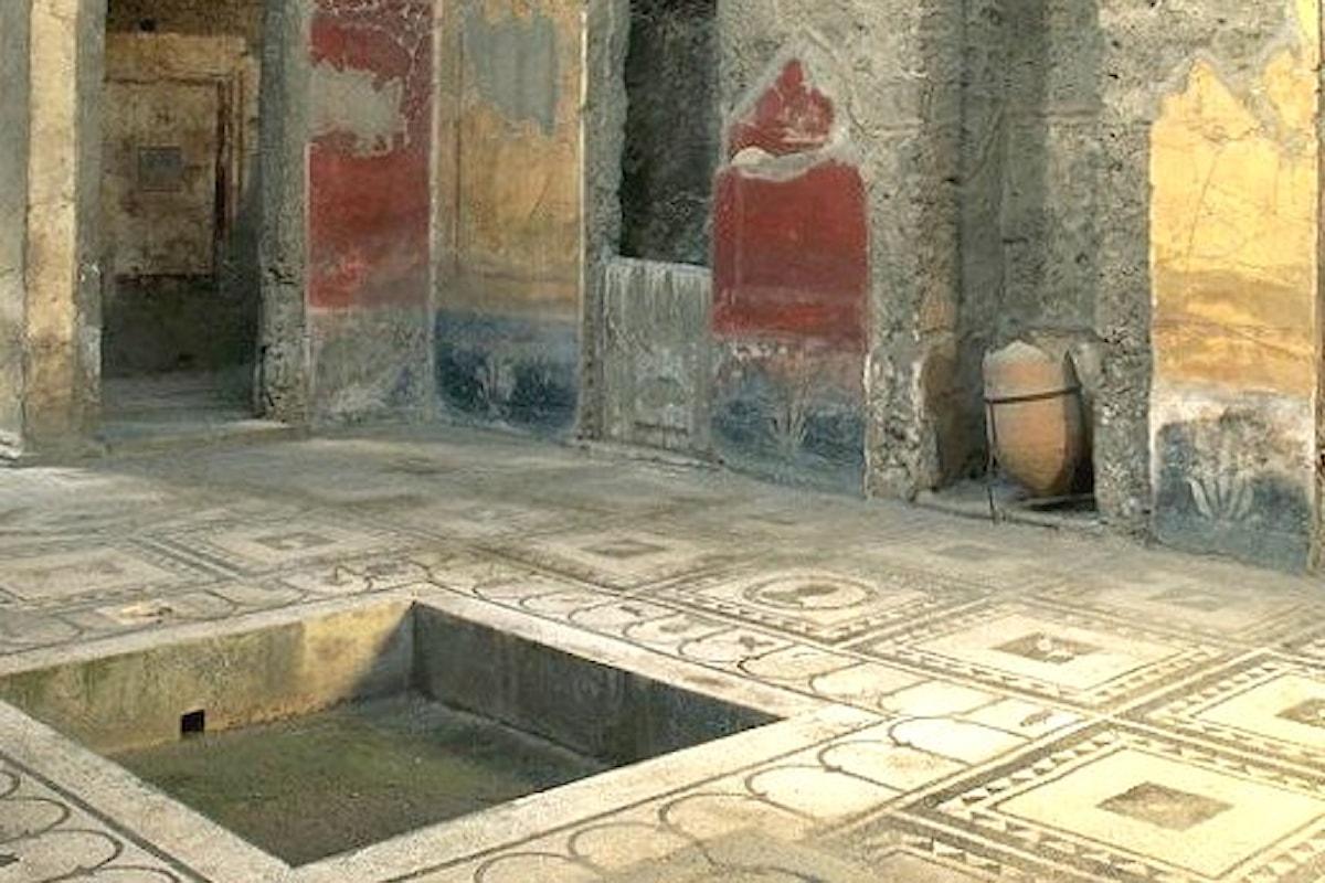 Renzi a Pompei per inaugurare sei domus restaurate