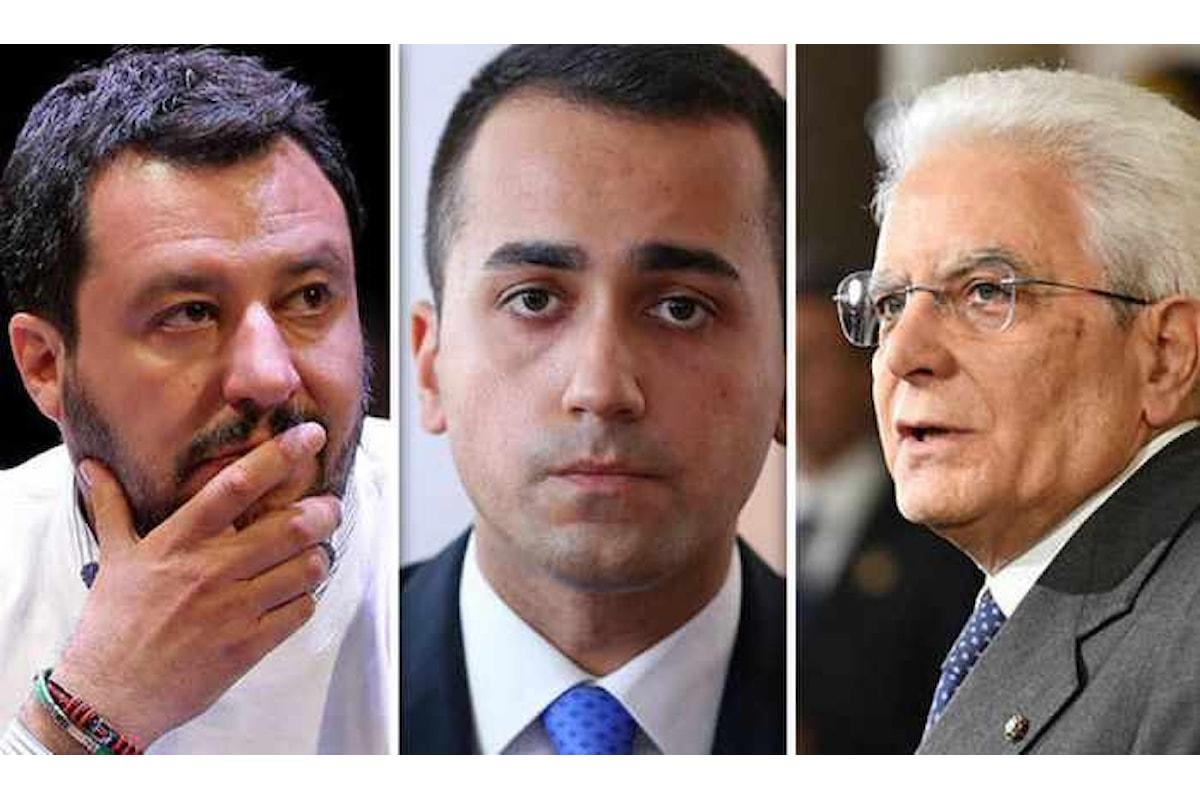 Governo? Di Maio cerca una soluzione, Mattarella spera che si trovi, Salvini vuole votare... ma dopo l'estate