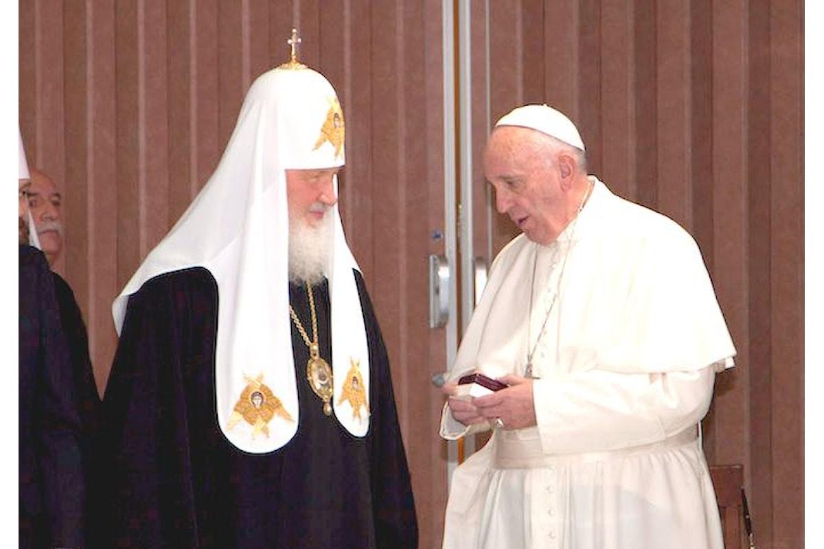 Il resoconto dell'incontro tra Francesco e Kirill a Cuba