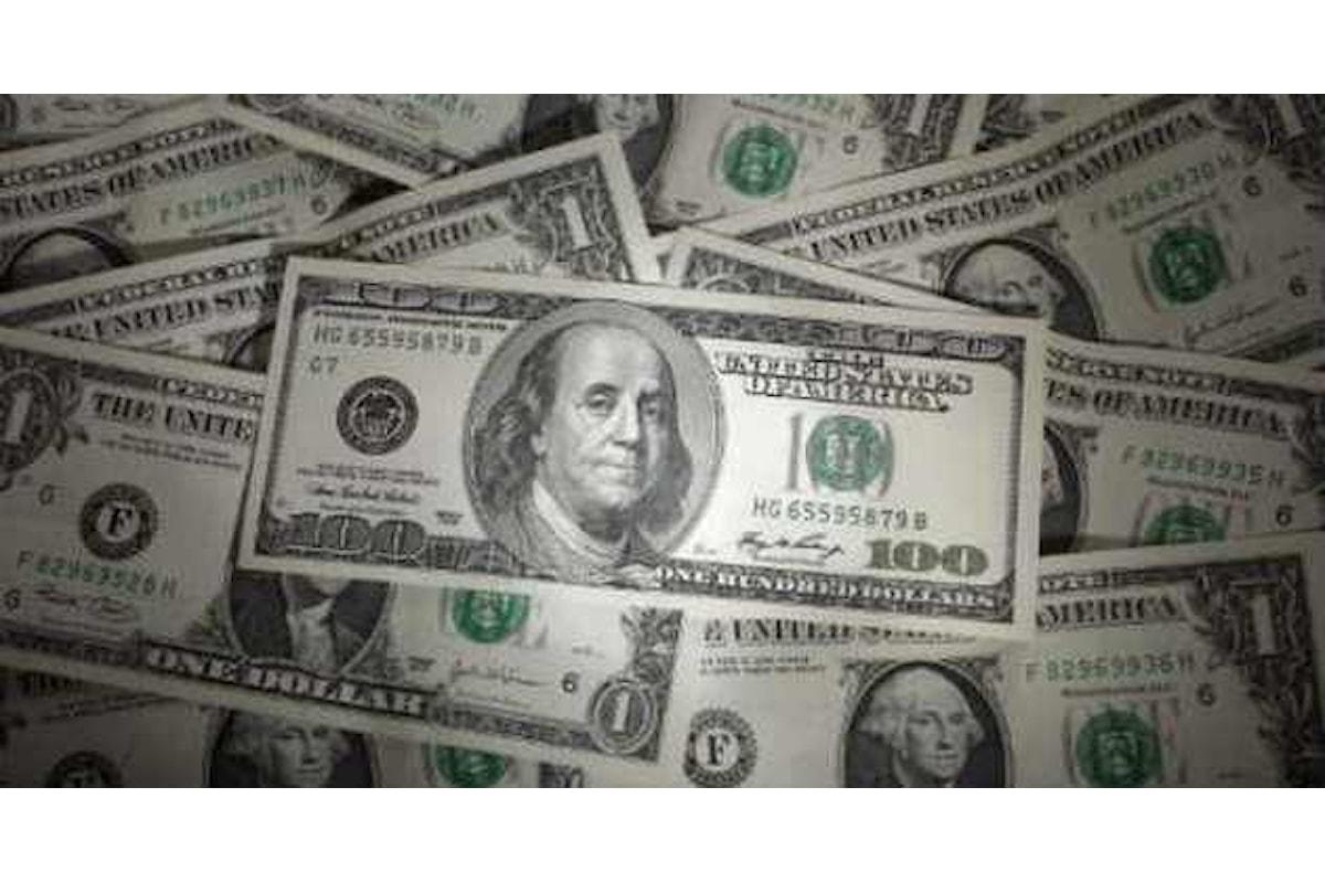 Trader sempre più fiduciosi sul dollaro: puntate in crescita per la quarta settimana di fila