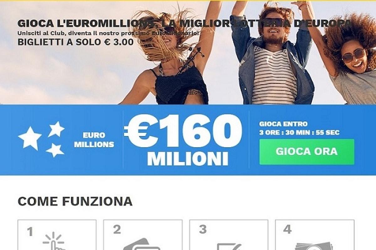 EuroMillions.com presenta il nuovo sito web