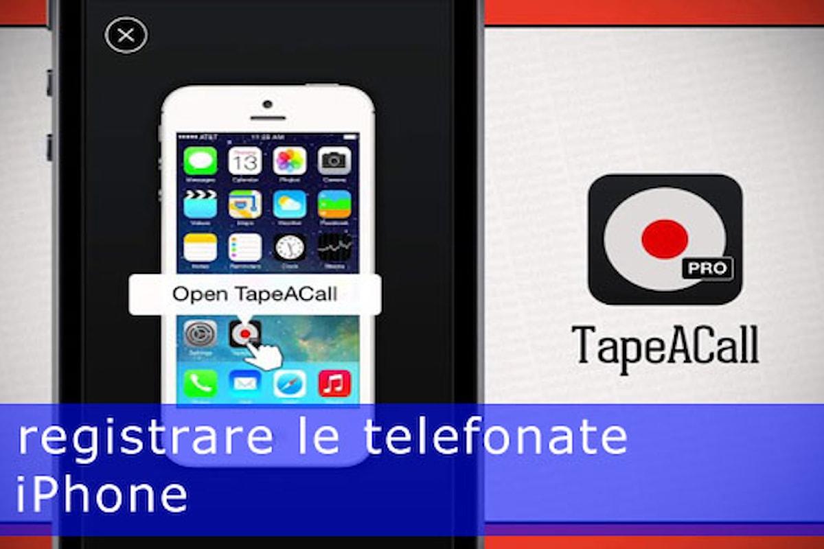 Come registrare una telefonata su iOS 9 con un app