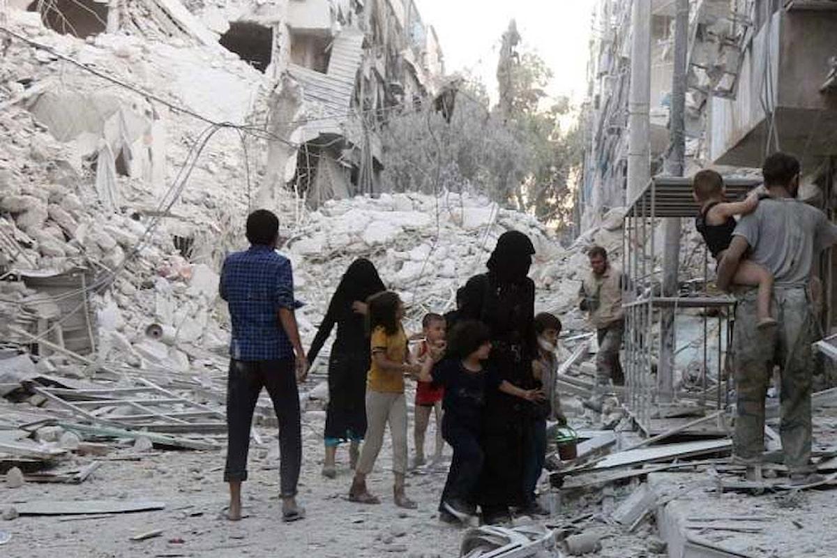 Secondo l'UNICEF, ad Aleppo sono quasi 2 milioni le persone senza acqua corrente dopo gli attachi di giovedì notte