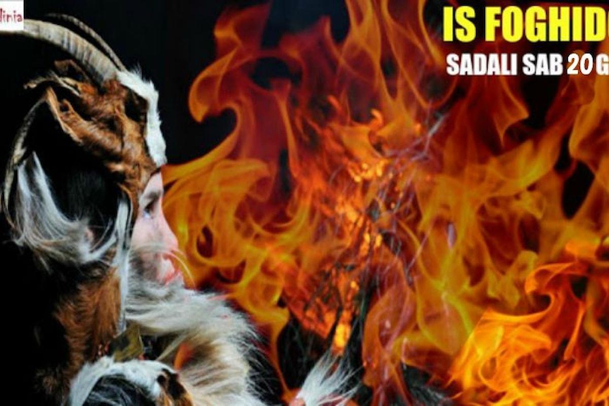 Is Foghidonis a Sadali, sabato 20 gennaio