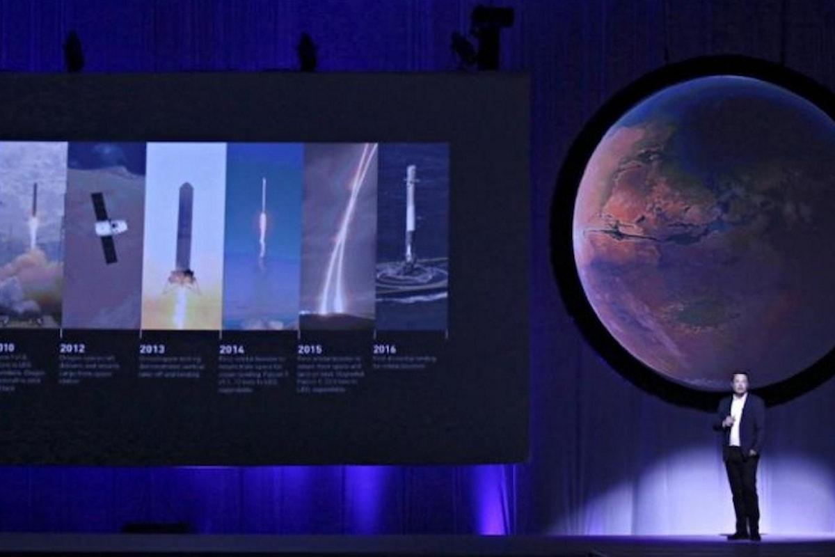 Destinazione Marte per Elon Musk