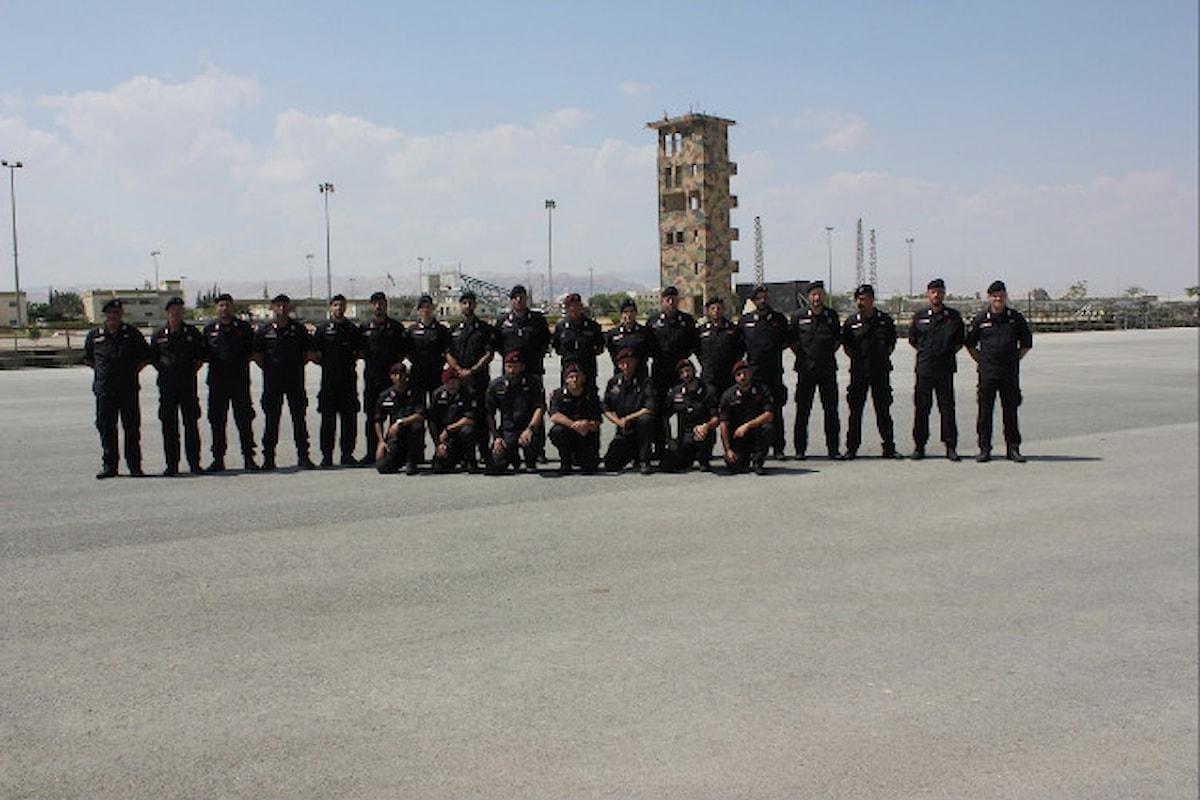 Palestina, Carabinieri istruttori avviano corsi addestramento per le forze di sicurezza palestinesi