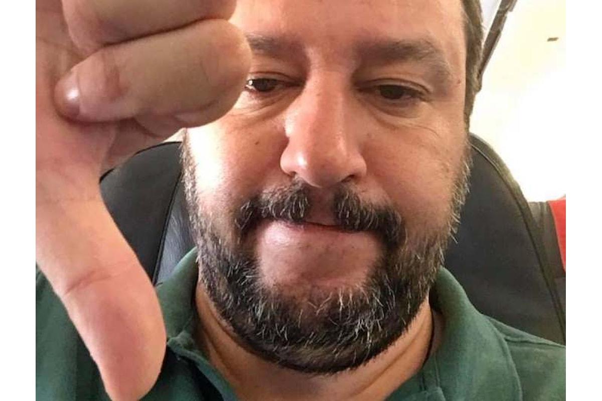 Salvini e la voglia di fare una passeggiata a Roma
