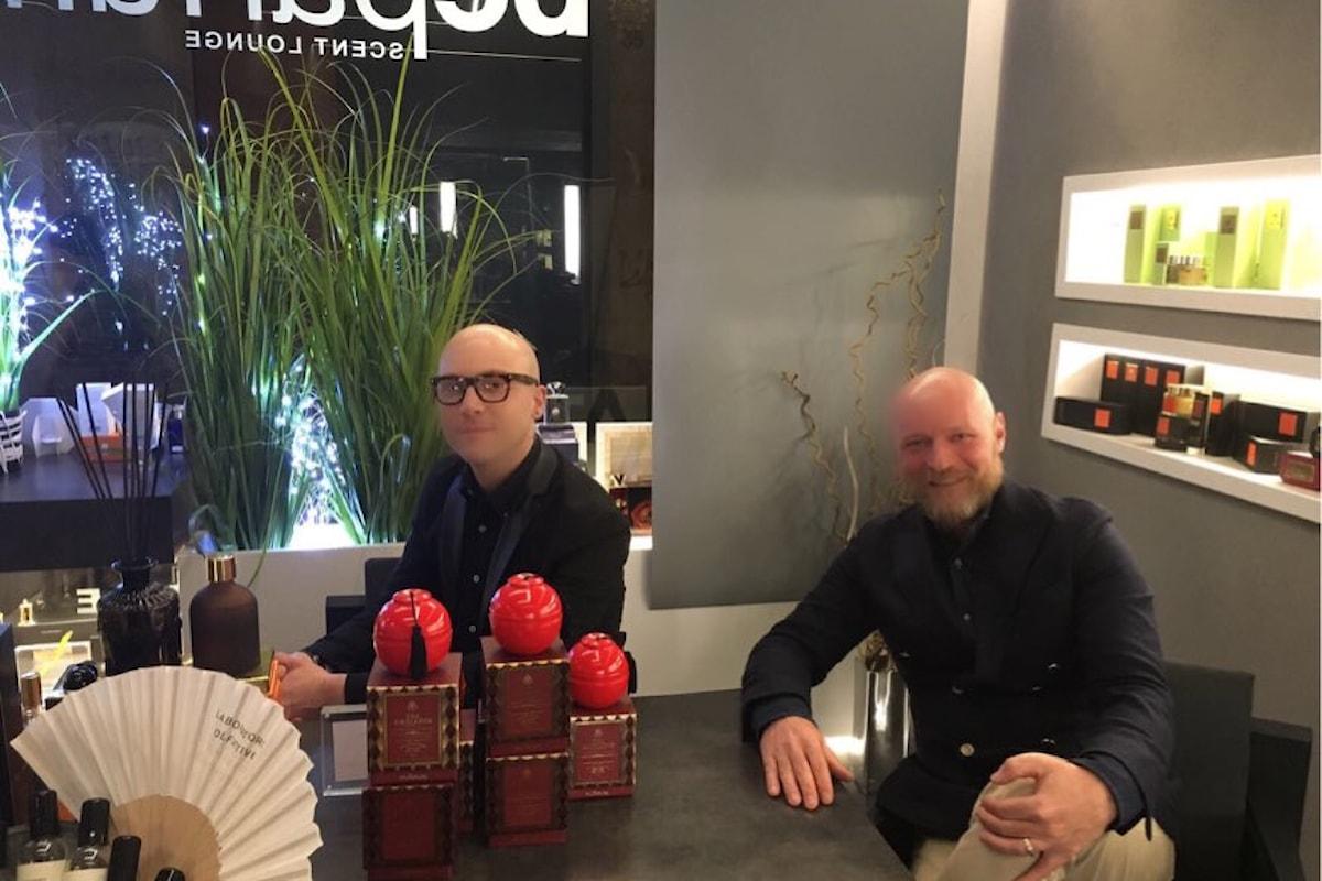 Beparfum Scent Lounge la profumeria artistica di Bergamo nella TOP-LIST del blogger Andrea Ubbiali