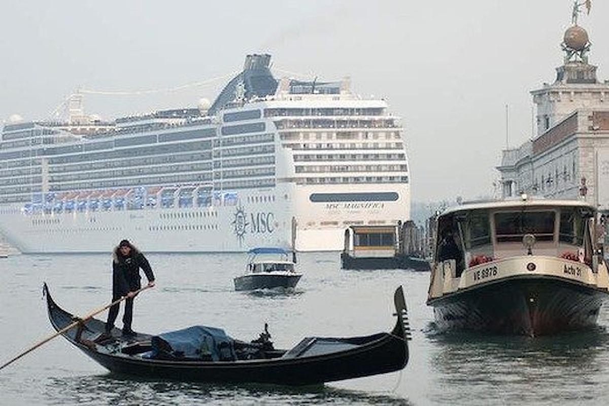 Venezia, via le grandi navi dal Canal Grande