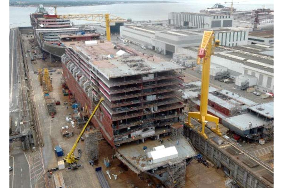 Accordo tra Fincantieri e Francia per l'acquisto dei cantieri navali Stx di Saint Nazaire