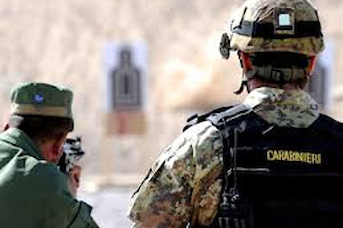 Afghanistan: Carabinieri addestrano polizia afgana