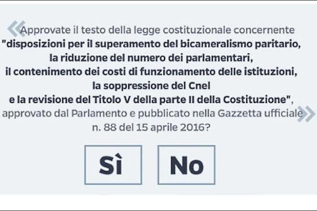 Referendum costituzionale: dalla catastrofe evocata da Benigni al ricorso al Tar sul quesito nella scheda