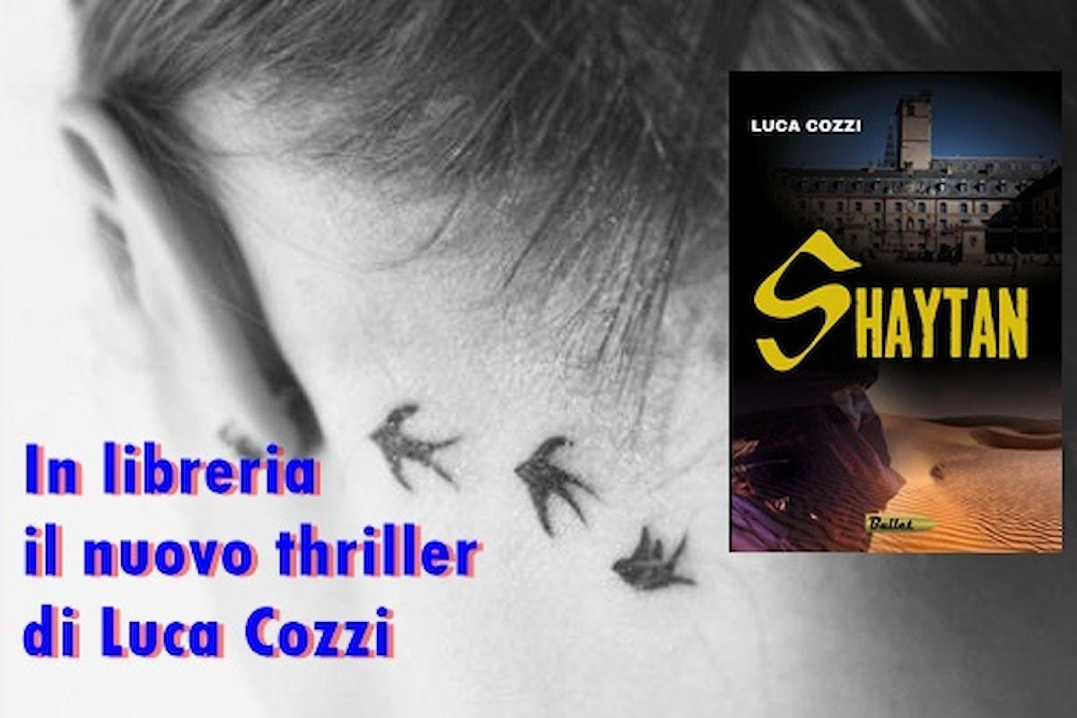 In libreria il nuovo thriller di Luca Cozzi