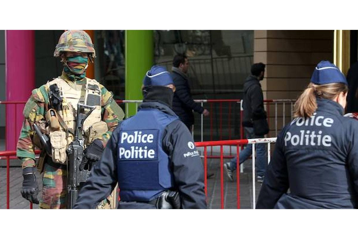 Belgio, polizia smantella cellula terroristica pronta ad entrare in azione a Bruxelles