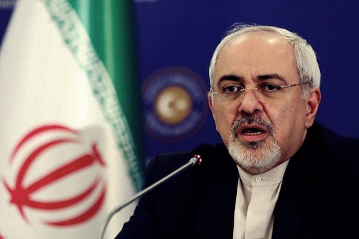 Iran, il ministro degli Esteri nega lo svolgimento di test missilistici vietati dall'ONU