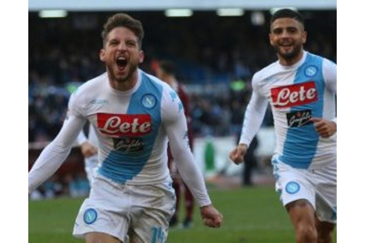 SERIE A - Il Napoli mata il Toro con quattro gol di Mertens
