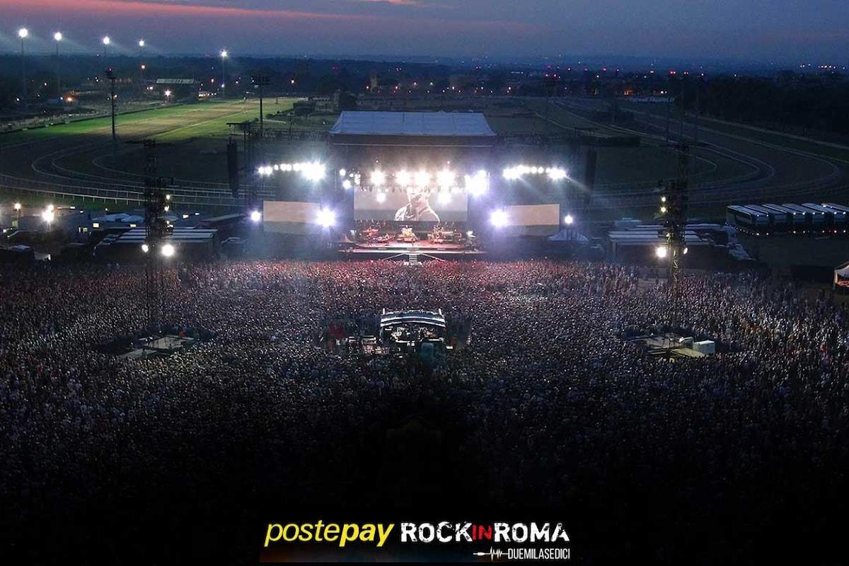 Rock in Roma 2016, al via dal 7 giugno